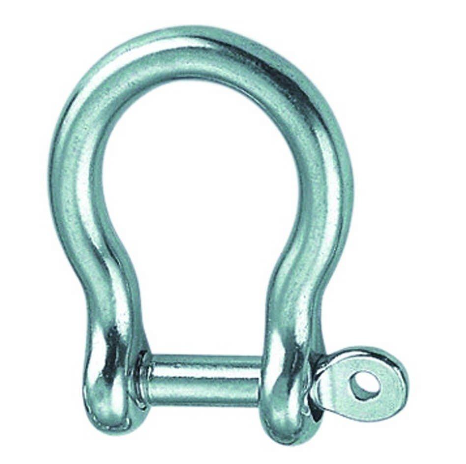 Harpsluiting borgbout 10mm BL:5400 Kg RVS A4 1 stuks