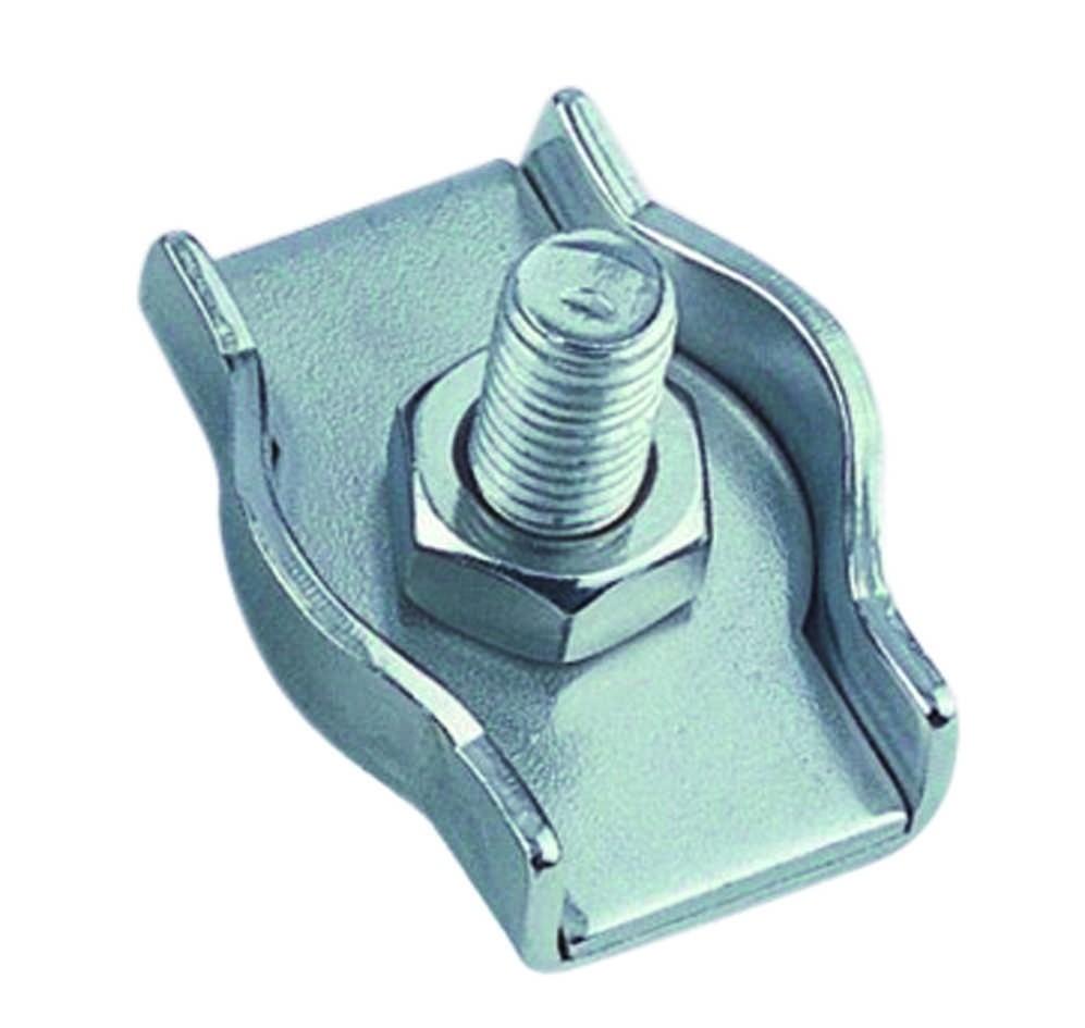 Staaldraadklem simplex 5mm RVS A4 1 stuks