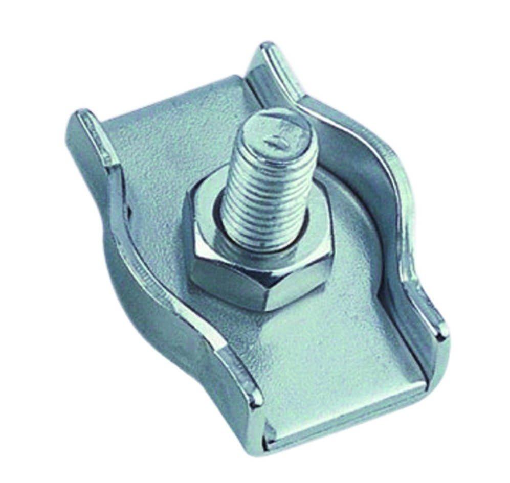 Staaldraadklem simplex 3mm RVS A4 1 stuks