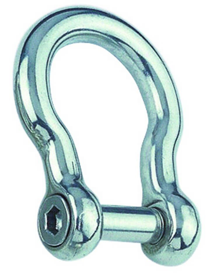 Harp-sluiting imbus 10mm BL:4300 Kg  RVS A4 1 stuks
