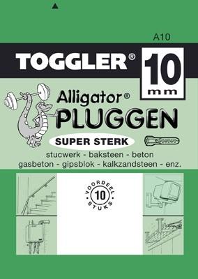 Toggler Alligator plug A10 10 stuks