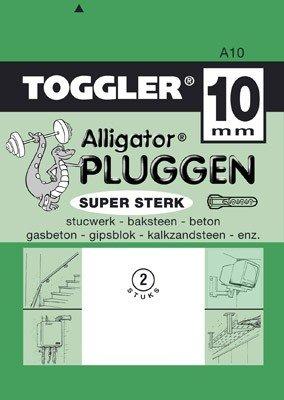 Toggler Alligator plug A10 2 stuks