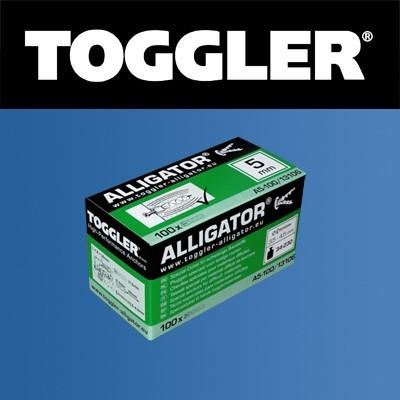 Toggler Alligator plug A6 100 stuks
