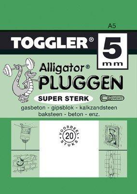 Toggler Alligator plug A5 20 stuks