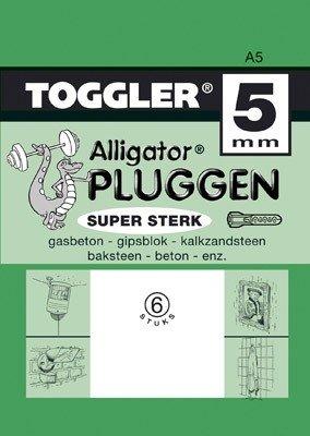 Toggler Alligator plug A5 6 stuks