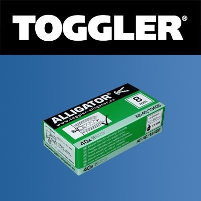 Toggler Alligator plug A8 40 stuks