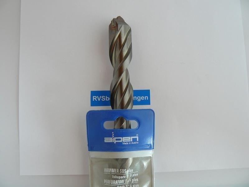 Alpen hamerboor SDS-plus 16,0x450mm 1 stuks