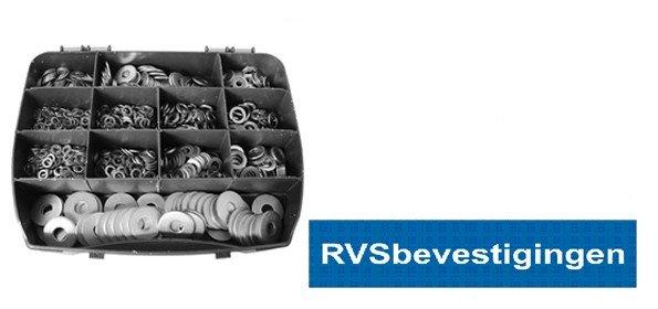 Assortimentskoffer Ringen RVS A4 (AISI-316) 1175-delig