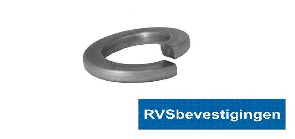 Veerring Din127B M5 5,1mm RVS A4 200 stuks