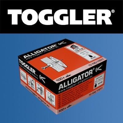 Toggler Hollewandplug 15-19mm TC-100 100 stuks
