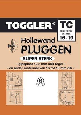 Toggler Hollewandplug 15-19mm TC-6 6 stuks