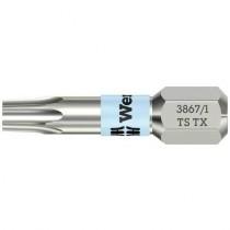 Wera bits 3867/1 RVS TS TX40