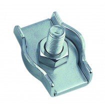 Staaldraadklem simplex 4mm RVS A4 1 stuks