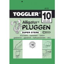 Toggler Alligator plug A10 10st.