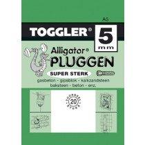 Toggler Alligator plug A5 20st.