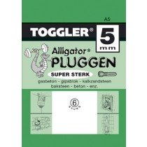 Toggler Alligator plug A5 6st.
