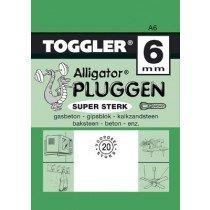 Toggler Alligator plug A6 20st.