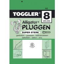 Toggler Alligator plug A8 6st.