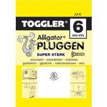 Toggler Alligator plug AF6 met flens 6st.