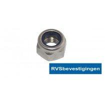 Borgmoer Din985 M20 RVS A4 1 stuks