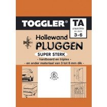 Toggler Hollewandplug 3-6mm TA-6 6st.