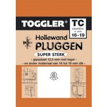 Toggler Hollewandplug 15-19mm TC-6 6st.