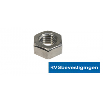 "Zeskantmoer Din934 BSW/UNC 5/16"" RVS A4 1st."